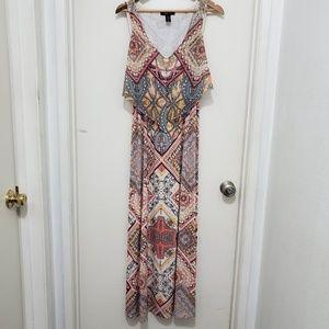 Style & Co Pattern Dress Size S